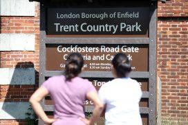 Trent Park sign image