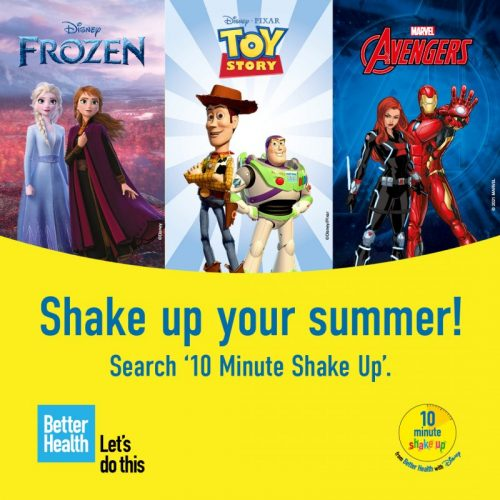 Shake up your summer!