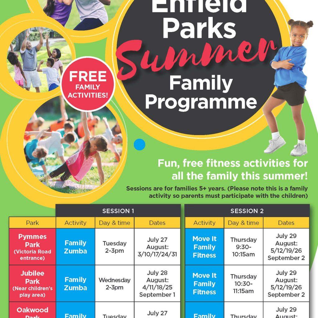 Summer activities programme