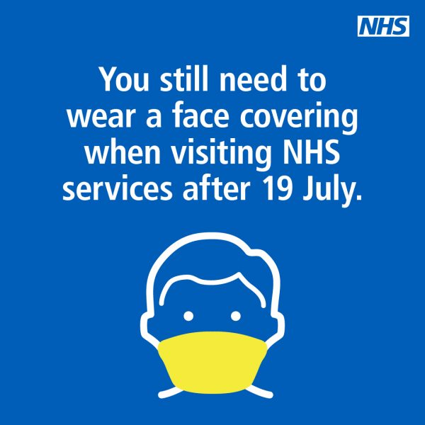 Guidance for visiting NHS settings